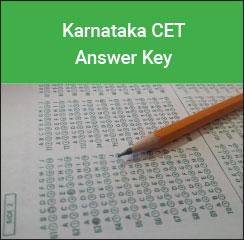 KCET Answer Key 2017- Karnataka CET Answer Key 2017 Download PDF Here