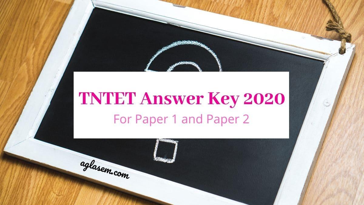 TNTET Answer Key