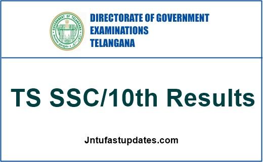 Telangana TS 10th Class Results