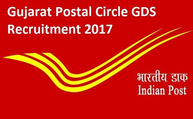 Gujarat Postal Circle Recruitment 2017 – 1912 Gramin Dak Sewak Vacancy