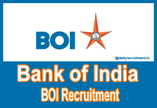 Bank of India Recruitment 2017 for Technical Officer Vacancy Apply Online